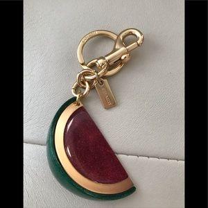 Brand New ✨ Coach Watermelon Keychain Bag Charm